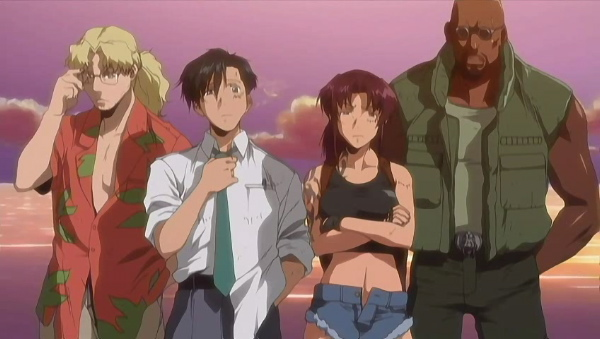 Black Lagoon The Second Barrage TV Series image