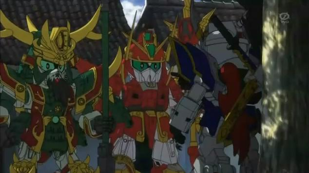 SD Gundam Sangokuden Brave Battle Warriors TV Series image